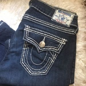 True Religion high rise boot 26 Jeans!!!